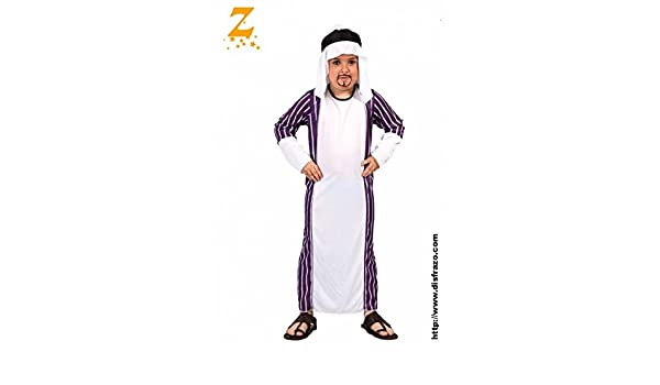 Disfraz de árabe para niño - 7-9 años: Amazon.es: Juguetes y juegos