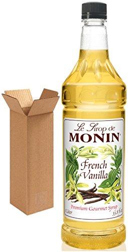 Monin French Vanilla Syrup, 33.8-Ounce Plastic Bottle (1 Liter). ()