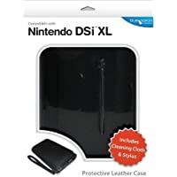 Blue Ocean Accessories Leather Case - Black (Nintendo