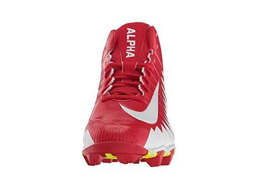 Scarpe Da Uomo Nike Alpha Minaccia Shark University Rosso / Bianco / Bianco Taglia 7