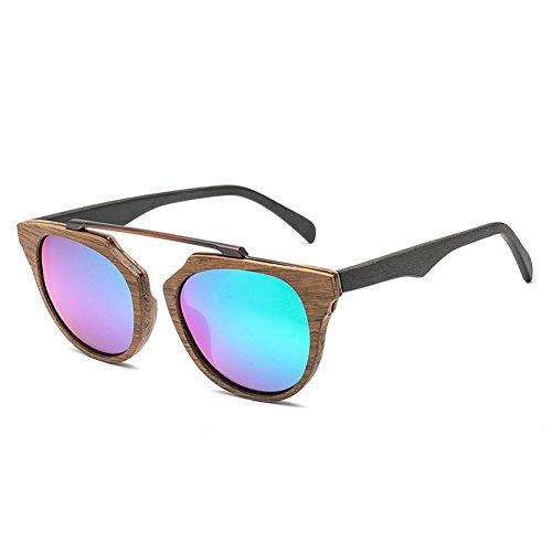 Y Hombre Sol Gafas Mujer De Polarizadas Sol Gafas De Época De E Marco Madera De De De Gafas De Sol TT5war