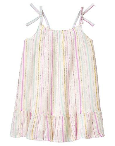 Crazy 8 Baby Girls Toddler WVN Multi Lurex Stripe Dress