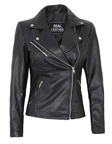 Asymmetrical Womens Leather Jacket