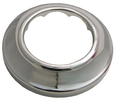 Larsen Supply 03-1541 Sure Grip, Chrome Plated Shallow Flange,Fits 1-1/2-Inch Iron Pipe,Carded - Quantity 6 ()