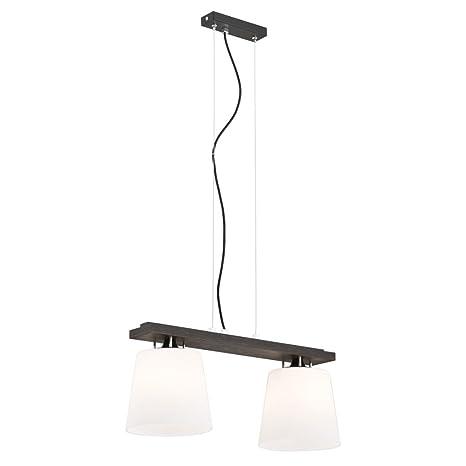Moderna Lámpara de techo 2 x 60 W/E27 verm outh 696 Argon ...