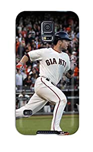 Durable Defender Case For Galaxy S5 Tpu Cover(san Francisco Giants ) by lolosakes