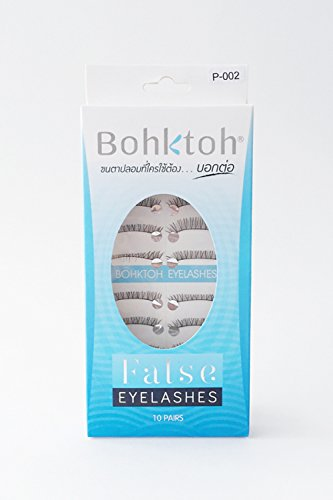 10 Pairs Bohktoh False Lashes Boya P-002