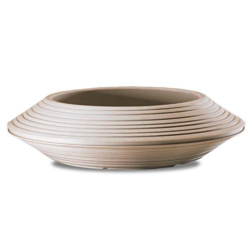 Crescent Garden Daniel Bowl, 36-Inch, Weathered Stone