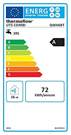 Untertisch Thermoflow UT5+QMIX 12 5 L Wasser Boiler mit Armatur