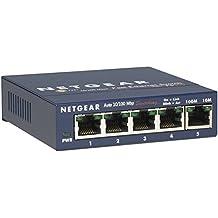 NETGEAR ProSAFE 5-port Fast Ethernet Desktop Switch (FS105NA)