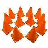 MAKO Sports Set of 12 Training and Traffic Cones