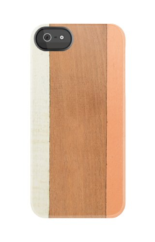 Uncommon - C0090-AR - Apple iPhone 5/5S TS Deflector Hülle in Wooden Stripes Orange