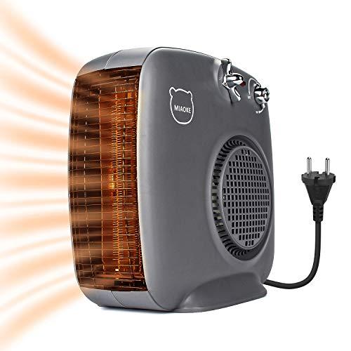 🥇 Spardar – Calefactor de cerámica con termostato y protección contra sobrecalentamiento