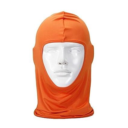 0e9b86a9f1a SUPERBIKE Face Mask Balaclava Hat Head Cover Motorcycle Headgear Scarf  Helmet Full Scarf Protection Scarf Cs Moto Cycling Road Bike - Orange   Amazon.in  Car ...