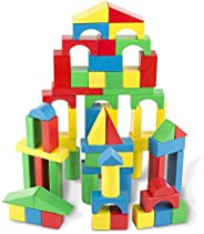 Melissa & Doug 100-Piece Wood Blocks