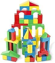Melissa & Doug 100-Piece Wood Blocks