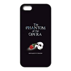 Fashion Phantom of the Opera Personalized iPhone 6 plus 5.5 Rubber Silicone Case Cover