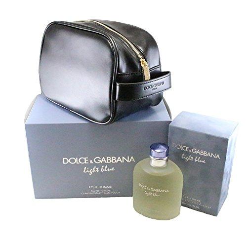 Gift Set Perfume Gabbana (Dolce & Gabbana Light Blue Pour Homme 2 Piece Gift Set, 6.7 Ounce)