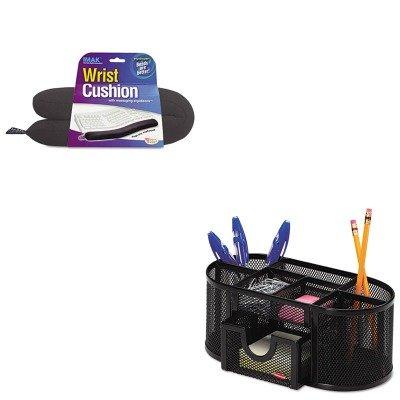 KITIMAA10160ROL1746466 - Value Kit - IMAK PRODUCTS Keyboard Wrist Cushion (IMAA10160) and Rolodex Mesh Pencil Cup Organizer (ROL1746466) (Imak Keyboard)