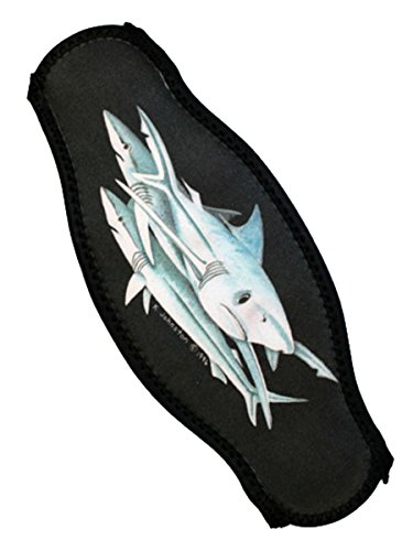 Strap Wrapper Neoprene Mask Strap Cover Shark (Shark Snorkel compare prices)