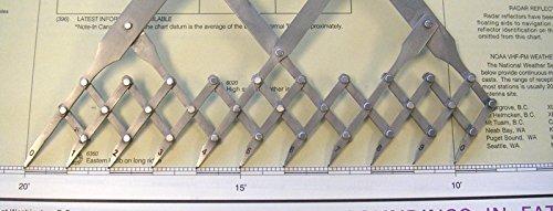 Stainless Steel 6 Ten-Point Spacing Dividers