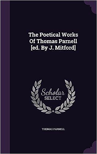 Descargar Libro Ebook The Poetical Works Of Thomas Parnell [ed. By J. Mitford] En PDF