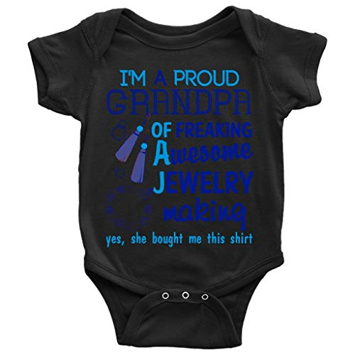 Awesome Jewelry Making Baby Bodysuit, I Am A
