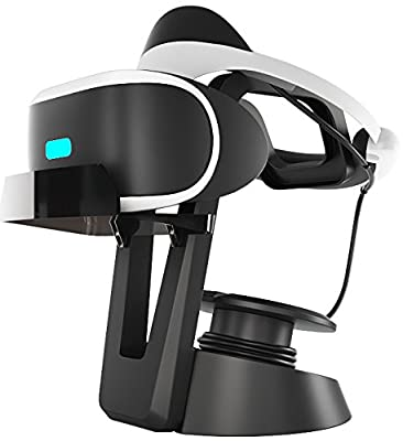 Skywin VR Stand - Headset Display Stand and Cable Organizer for all VR Glasses - HTC Vive, Playstation VR, and Oculus Rift