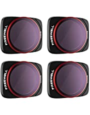 Freewell Bright Day - 4K Series - 4Pack ND/PL Filters Compatible with Air 2S Drone
