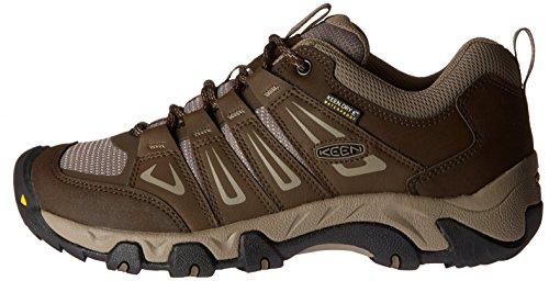 Marron De Low Pour Oakridge Chaussures Wp Hommes cascade Randonne Keen Bring Rise TwFz6qw