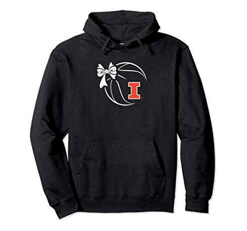 (Illinois Fighting Illini Basketball Ribbon Hoodie - Apparel)