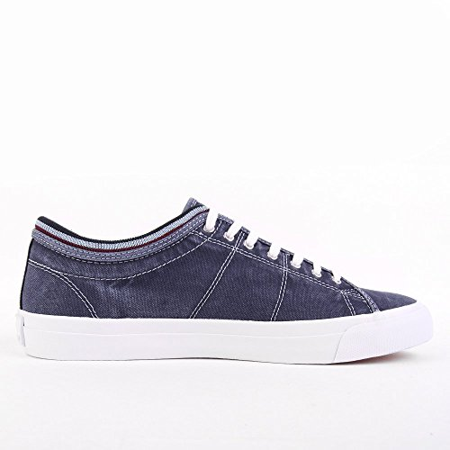 Fred Perry Kendrick Tipped Cuff Overdyed Canvas Navy Bleu marine