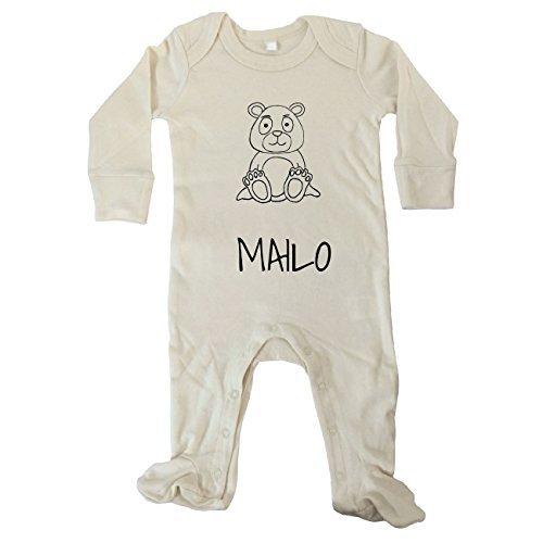 jollipets Bebé Pelele Manga Larga - mailo - 100% BIO - VARIANTE: Animales Zoo: Amazon.es: Ropa y accesorios