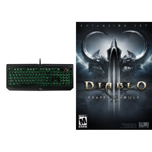 Price comparison product image Diablo III: Reaper of Souls - PC/Mac [Digital Code] and Keyboard Bundle