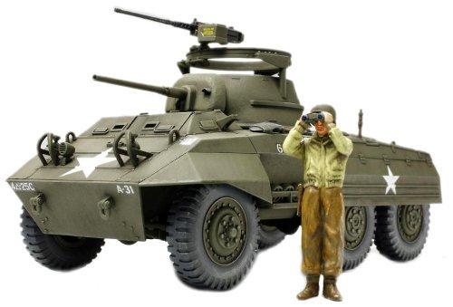Tamiya 1/48 Military Miniature Series No.51 US Army Light Armored car M8 Greyhound Model - Car Greyhound M8 Armored