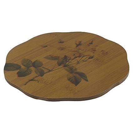 Amazon.com: eDealMax de madera del patrón de flor del hogar ...