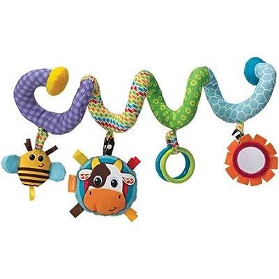 Infantino Topsy Turvy Spiral Activity Toy : Baby