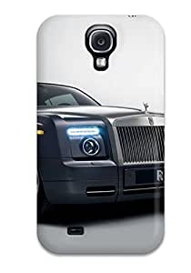 Durable Defender Case For Galaxy S4 Tpu Cover(rolls Royce Phantom 3)