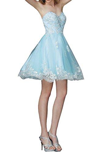 La Braut Partykleider Damen Himmel Heimkehr Kurz Himmel Blau Tanzenkleider Marie Cocktailkleider Knielang Abendkleider Blau rBn5wrqU