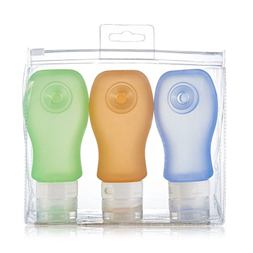 Pure Proof Silicone Travel Bottles