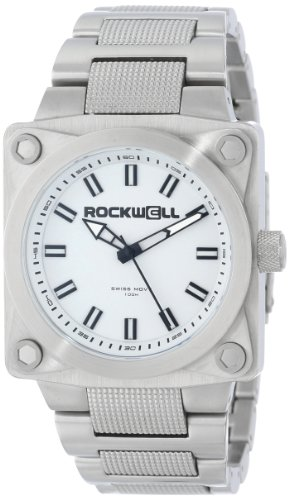 Rockwell Time Men's SF101 747 Stainless Steel Silver and White Watch