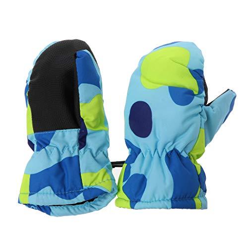 2-5 Years Mitten Winter Kids Boys Girls Outdoor Warm Gloves Waterproof Windproof Lergo Baby Skiing Gloves