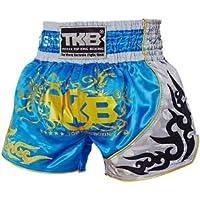 Top King Boxing Sky Blue Muay Thai Shorts