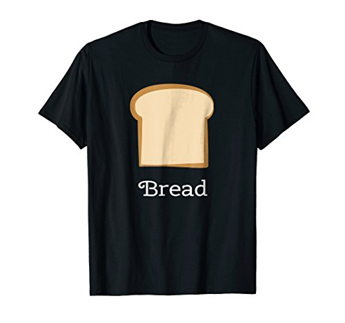 Mens Bread Group Costume Tees - Bread and Butter Medium Black -