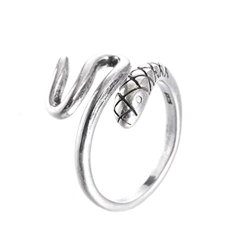 ptk12 Promotion fashion retro style snake thai silver female 925 sterling silver ladies`finger by ptk12