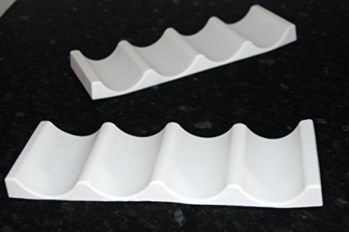 Kühlschrank Flaschenhalter : Kühlschrank flaschenhalter silikon weiß er amazon küche