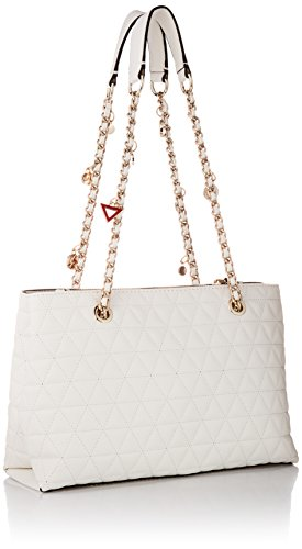 Fleur Whi GUESS White White Satchel Girlfriend ZHxxaB1
