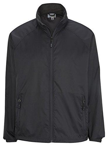 Edwards Garment Men's Hooded Rain Jacket, Steel Grey, X-Large - Grey Steel Rain Jacket