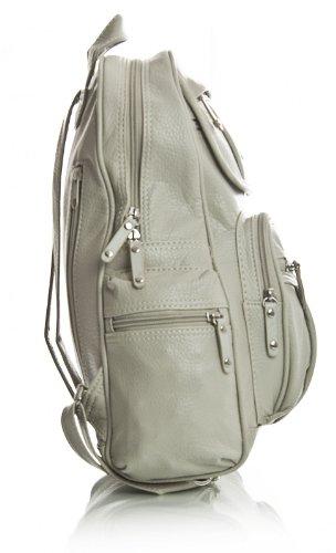 KL101 Vegan Rucksack Size Shop Unisex Design Black 2 Handbag Leather Backpack Big Bag Shoulder Medium wtYq6n