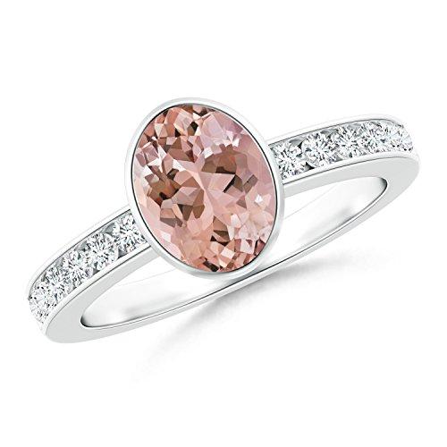 Ladies Channel Set Diamond Bezel - 7